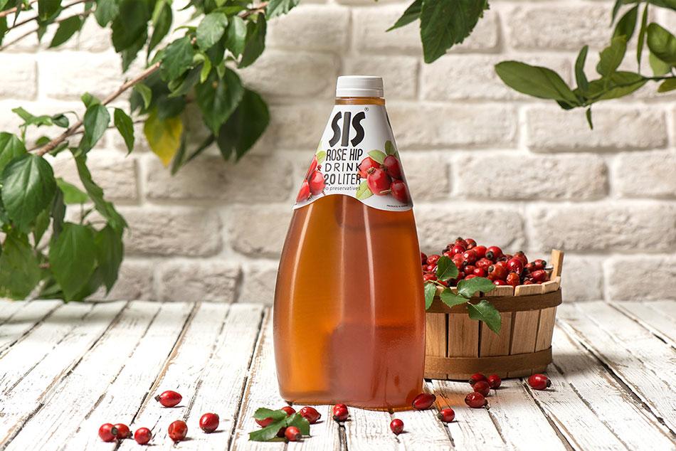 创意独特的仿生造型果汁包装设计——摩品品牌